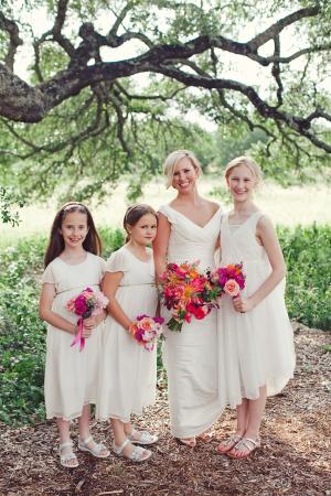 Cream Flower Girl Dresses