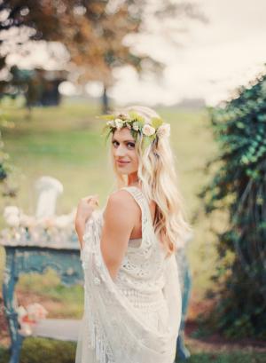 Crocheted Dress Bridal Ideas