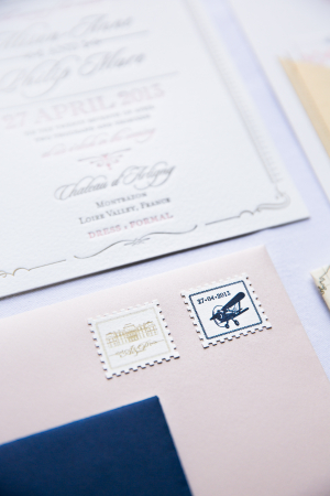 Custom Destination Wedding Stamps