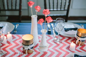 DIY Soup Can Votive Holders