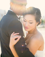 Desert Wedding Portrait From Sun Sparrow Photography