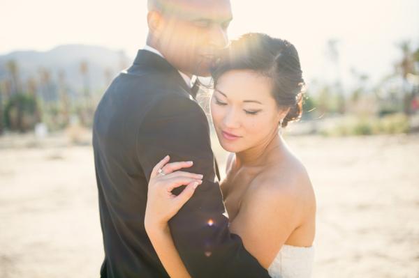 Desert Wedding Portrait From Sun Sparrow Photography