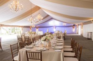 Elegant Pink Tented Wedding