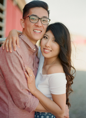 Engagement Portrait From Esther Sun Photography