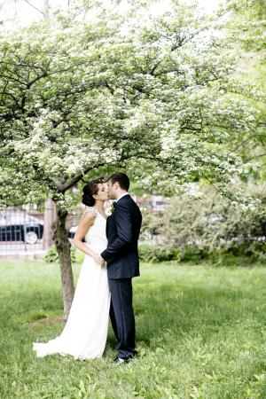 Garden Wedding Portrait