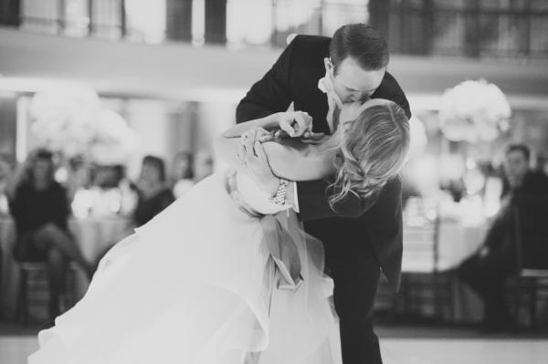 Groom Dipping Bride First Dance Ideas