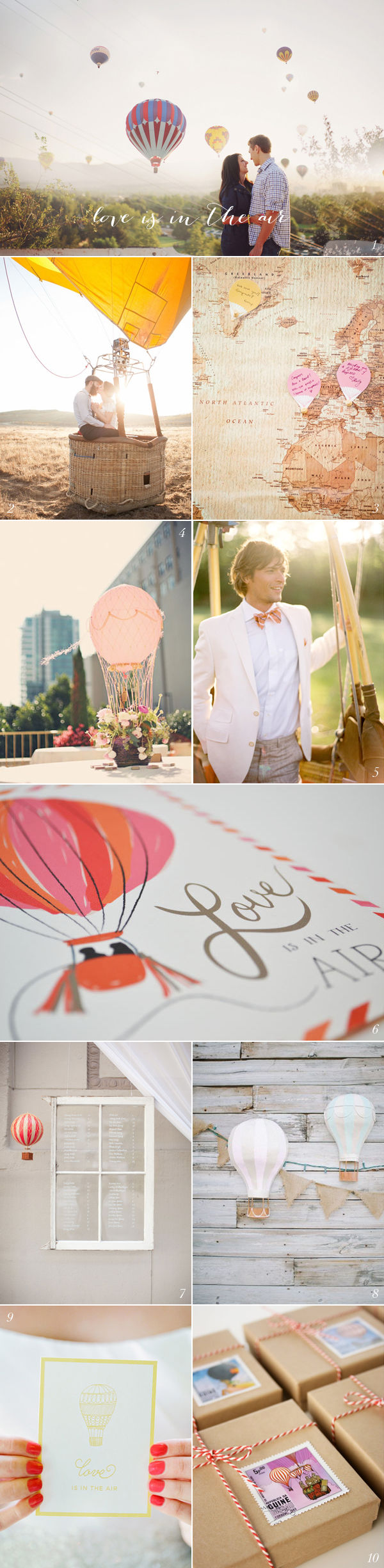 Hot Air Balloon Wedding Ideas