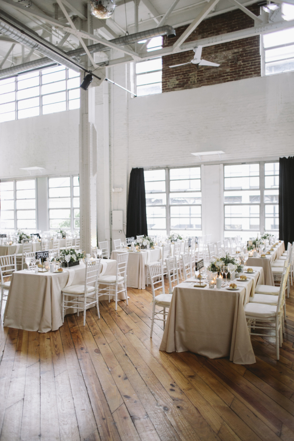 Industrial Warehouse Philadelphia Reception Venue Elizabeth Anne