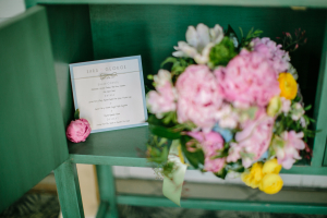 Modern Baby Blue Wedding Invitation