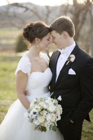 Outdoor Couple Portrait From Kristen Gardner