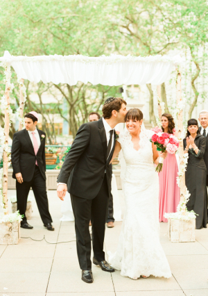 Outdoor Jewish Wedding Ceremony