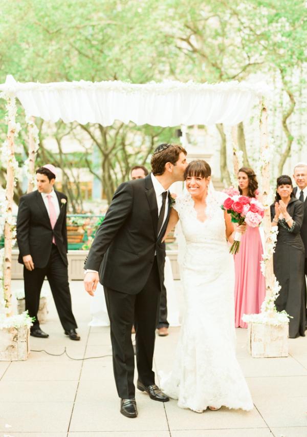Outdoor Jewish Wedding Ceremony