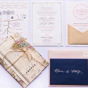 Paris Destination Wedding Stationery