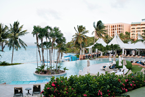 Pool Ritz Carlton St Thomas