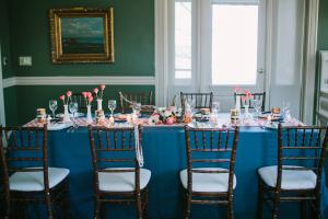 Preppy Reception Tablescape