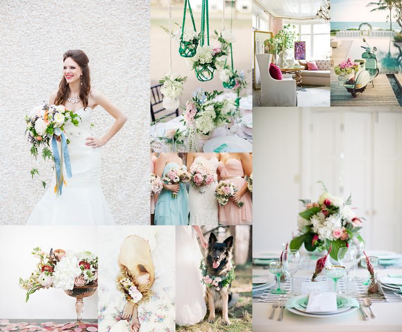Colorful Summer Wedding Inspiration Elizabeth Anne Designs The