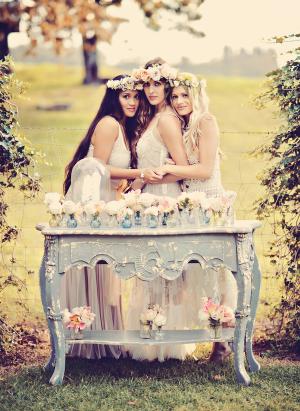 Romantic Vintage Bridal Inspiration