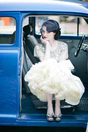 Ruffled Bridal Petticoat