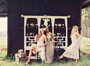 Sheer Lace and Crochet Dresses Bridal Inspiration