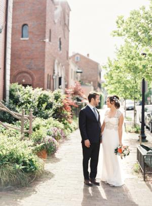 Spring Georgetown Wedding