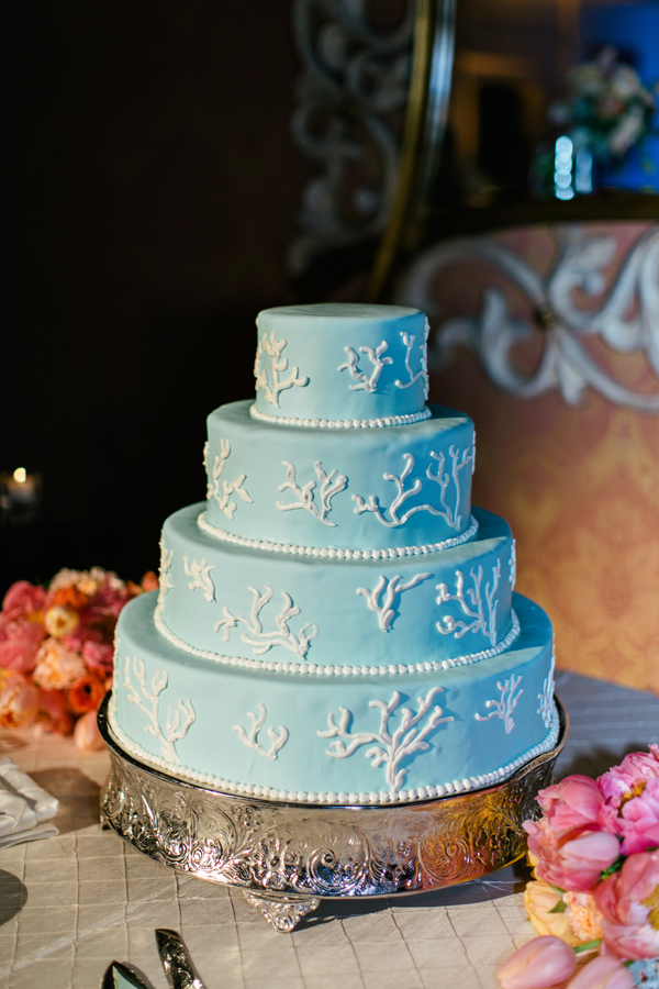 Tiffany Blue Wedding Cake Elizabeth Anne Designs The