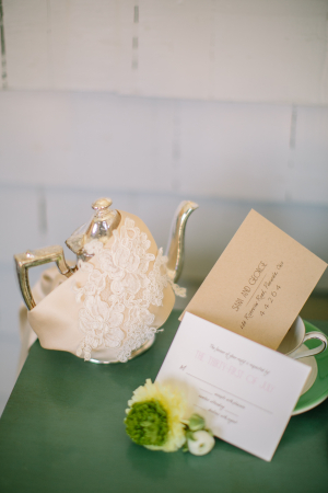Vintage Lace and Teacups