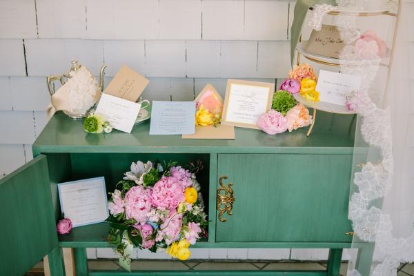 Vintage Style Wedding Stationery