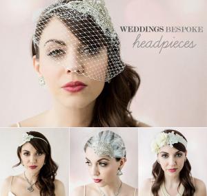 Weddings Bespoke Headpieces
