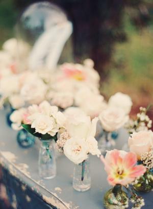 Blooms in Bud Vases