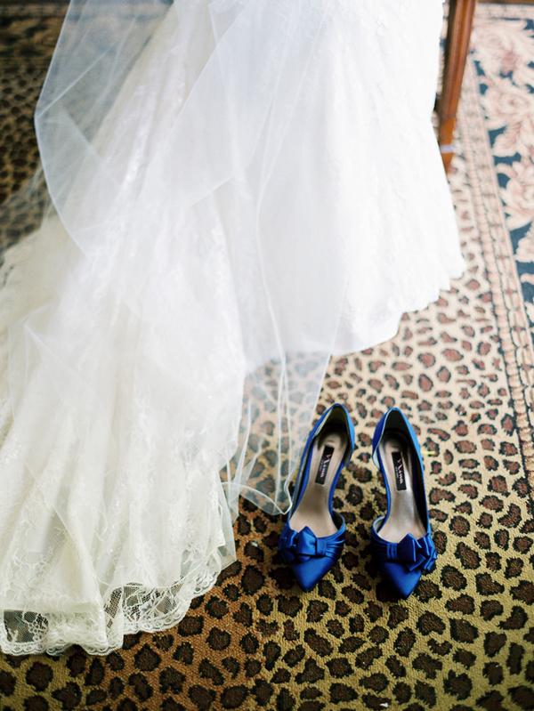 Blue Bridal Shoes Elizabeth Anne Designs The Wedding Blog