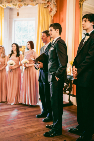 Blush Colored Bridesmaids Dresses