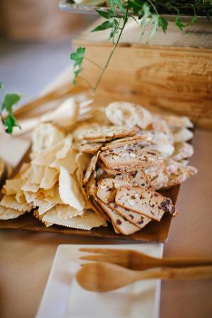 Bread Station Wedding