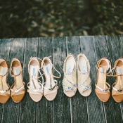 Bride and Bridesmaid Shoes