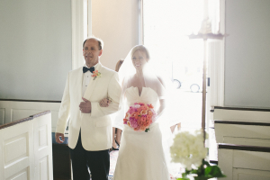 Bride and Father in Chapel