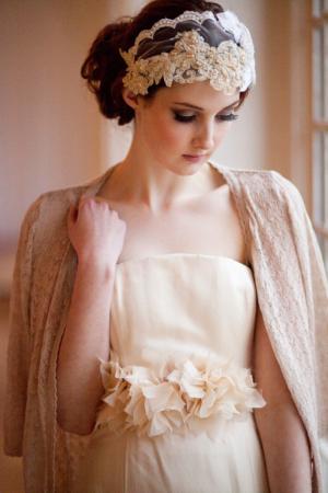 Bride in Cardigan