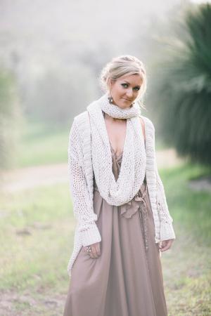Bridesmaid in Pretty Sweater