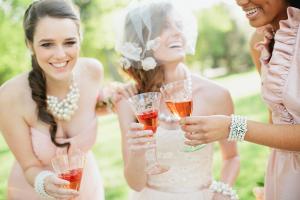 Bridesmaids Tea Party Wedding Ideas
