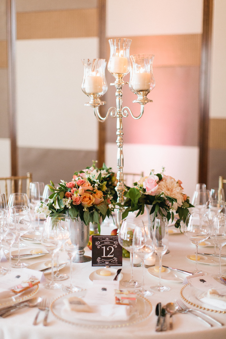 Small vases for wedding tables table decoration