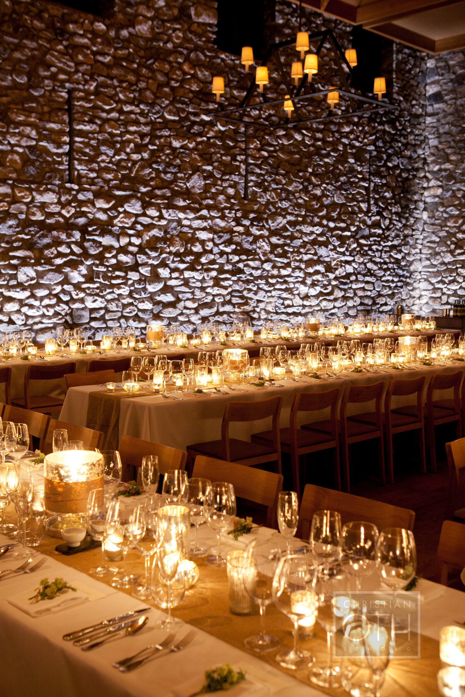 Candlelit Reception Venue Decor Elizabeth Anne Designs The