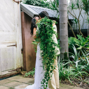 Cascading Greenery Bouquet