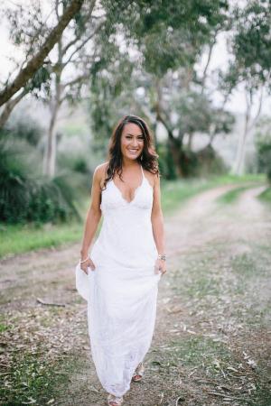 Casual Bohemian Bride