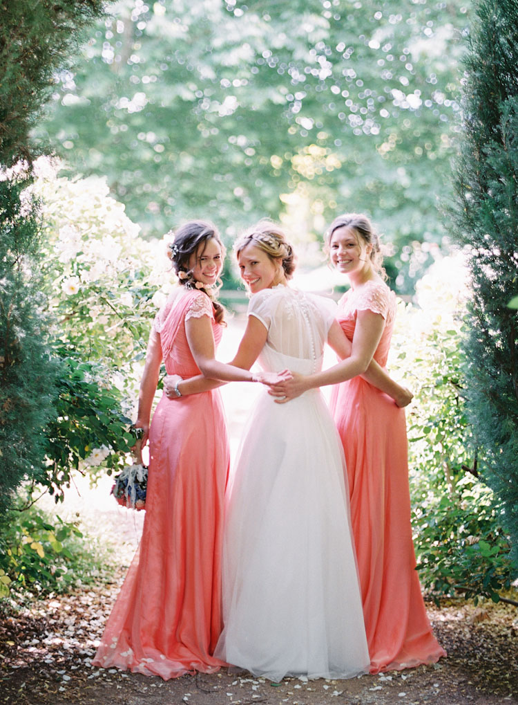 Coral Bridesmaids Dresses Elizabeth Anne Designs The
