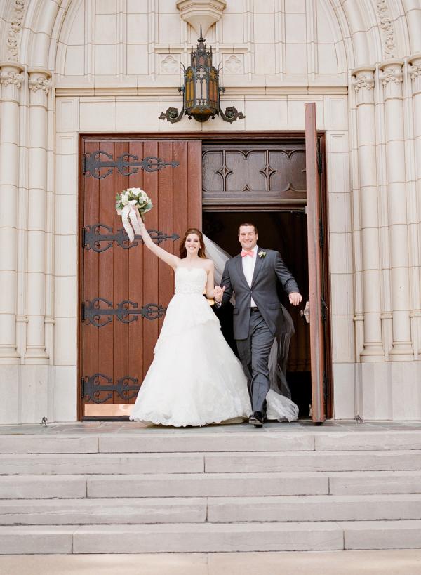 Couple Church Portrait