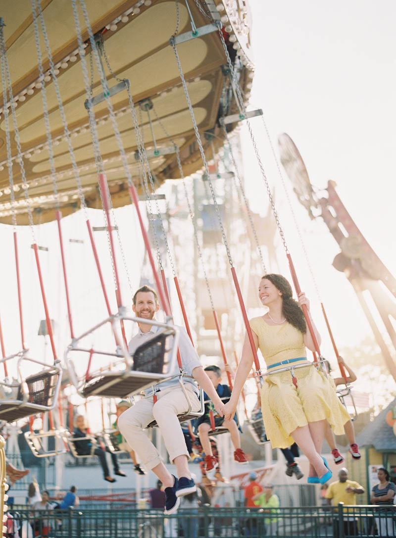 Coney Island Engagement Photos From Jen Huang Photography