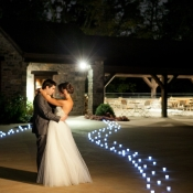 Couple Leaving Reception From Christian Oth Studio
