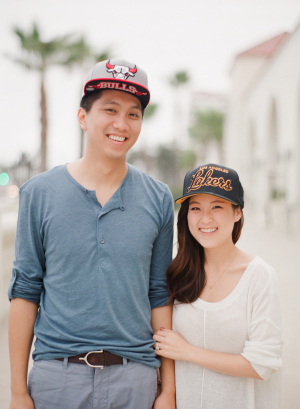 Couple in Truckers Hats
