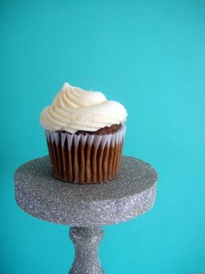 DIY Glitter Cupcake Stand