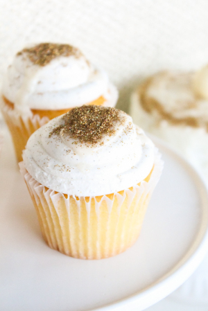 Edible Glitter Cupcake