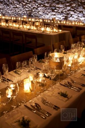 Elegant Candlelit Wedding