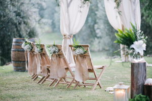 Elegant Rustic Wedding Ceremony